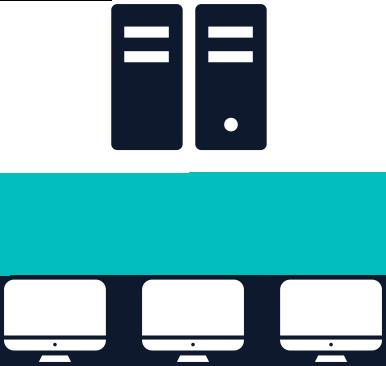 テキストマイニングサーバーとクライアントPC